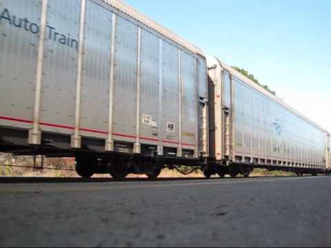 Amtrak train P053 at Charleston, SC 1/31/10