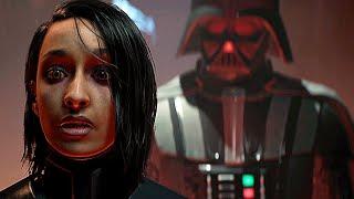 DARTH VADER Entrance Scene Final Boss Ending - Star Wars Jedi Fallen Order