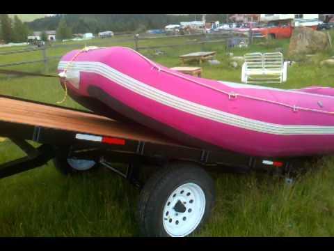 2014 7x12 tilt  raft trailer 15