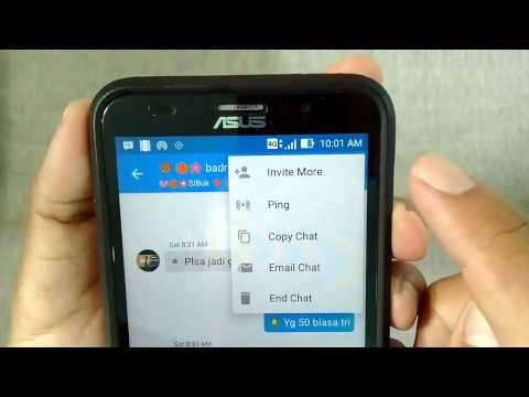 How to copy chats whatsapp, facebook, and blackberry messenger on android