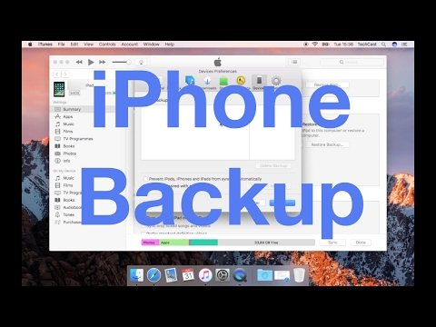 How to Backup Your iPhone, iPad, iPod and Apple Watch