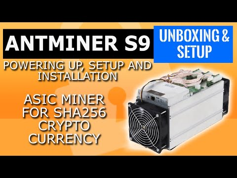 Bitmain Antminer S9 antminer setup , install and powering up. Antminer S9 review .BTC 2017 tutorial