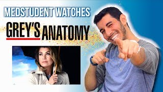 Real Medical Student Reacts to GREY'S ANATOMY | Medical Drama Review | Doctor Disney