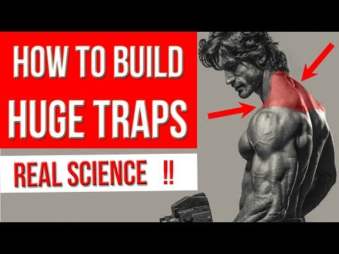 How to Get BIGGER TRAPS  (5 Best Exercises for HUGE TRAPEZIUS)