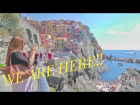 A DAY TRIP TO CINQUE TERRE l FROM LA SPEZIA