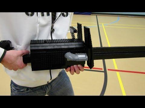 LEGO Minigun Turret - Halo