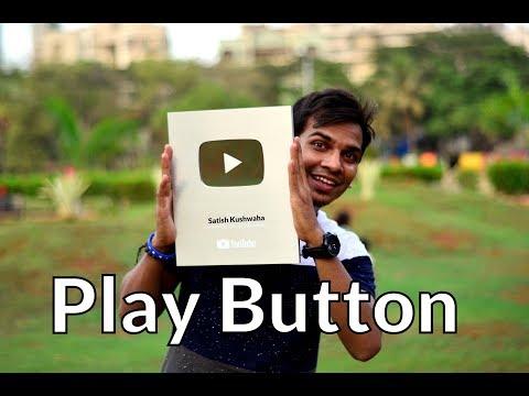 Silver Play Button- 1 Lakh Logo Ka Pyar 🔥