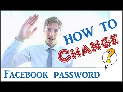 How to change my password on Facebook - 2015