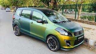 Only Chameleon Wrapped Maruti Ertiga   Ertiga Custom Headlights & Taillights