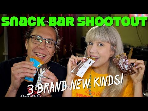 Snack Bar Shootout! *NEW* Vegan Products Review