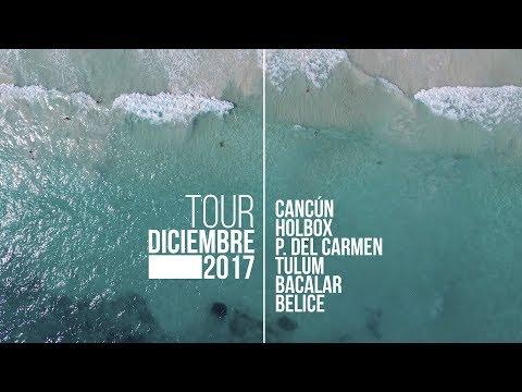 Tour 2017 Cancún- Holbox - Playa del Carmen - Tulum - Bacalar - Belice