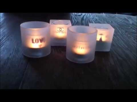 DIY   Shine a Light on me   Personalised Candle Holder