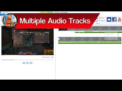 Multiple Audio Layers in Live Movie Maker – How to Combine Audio Tracks in Windows Live Movie Maker