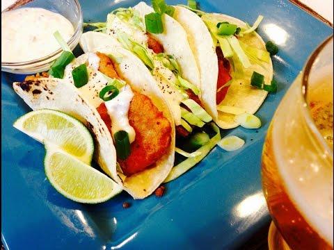 Crispy Beer Batter Fish Tacos | DinnerThymeWithApril