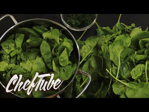 How to Wash and Prepare Spinach