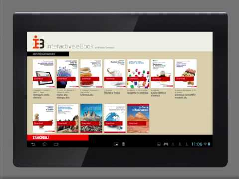 Interactive eBook: attivare e scaricare l'eBook su tablet Android