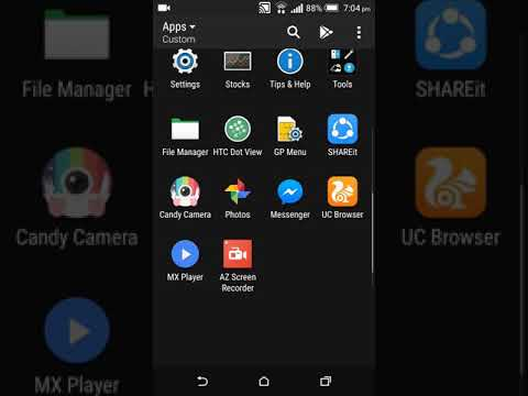 How to Set different notification tone for HTC Desire Eye