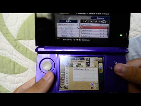 Fire Emblem Awakening - Maxing Out Avatar Logbook Character's Stats Without Training