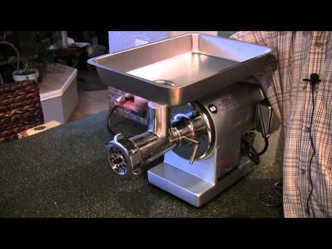 Homemade Sausage Using Thunderbird TB-300E Meat Grinder