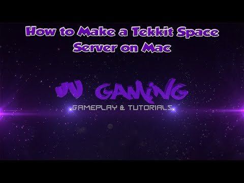 How To Make a Tekkit Space Server Mac