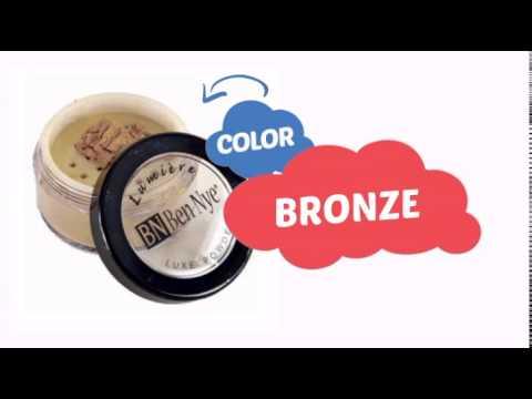 Ben Nye Lumiere Luxe Shimmer Powder - Bronze LX-5 (0.21 oz) - ClownAntics.com