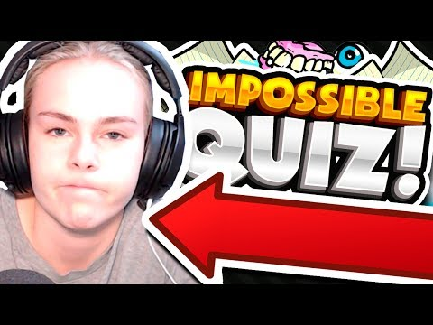CAN SHE COMPLETE THE IMPOSSIBLE QUIZ?!