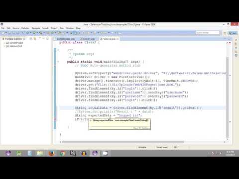 Selenium Tutorial #21 - Comparing two Strings in Java