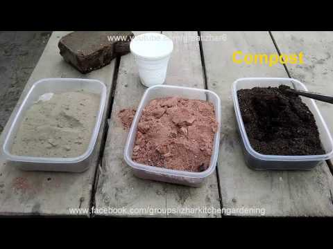 Well Drained Soil Potting Mix | How to Make Well Drained Potting Soil (Urdu/hindi)