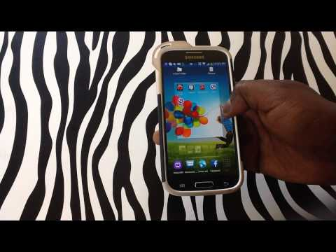 How to Rearrange Apps on your Home Screen on Samsung Galaxy S4