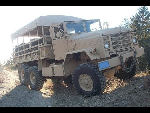 M925A1 Army Truck First Start of 2018