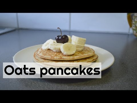 EatClean   How To Make Oats Banana Pancake | CWF