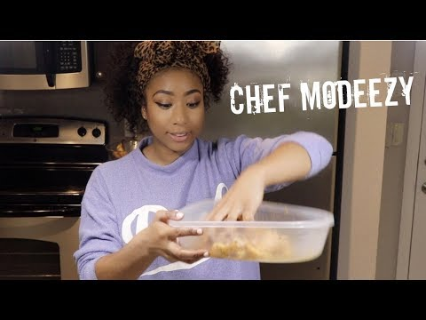 ♥︎ VLOG - Just Call Me CHEF MODEEZY • Sunday Cookin' Meal Prepping ♥︎