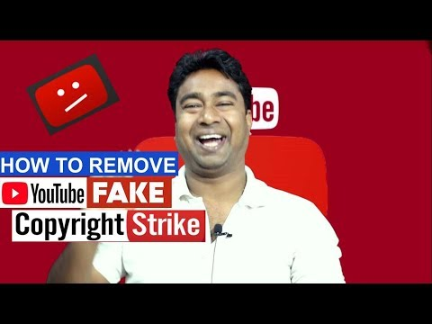 How to Remove Fake Copyright Strike On YouTube ! Counter Copyright Procedure