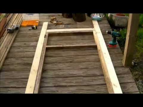 Polytunnel Door build pt1 Hoop House