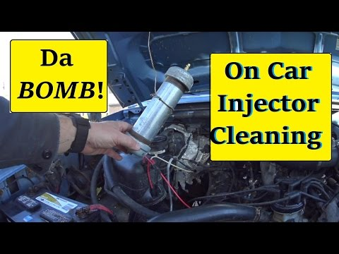 DIY F250 Fuel injector cleaning