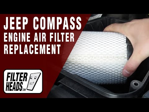 How to Replace Engine Air Filter 2011-2014 Jeep Compass L4 2.4L