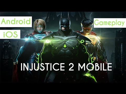 Injustice 2 Android/IOS Gameplay