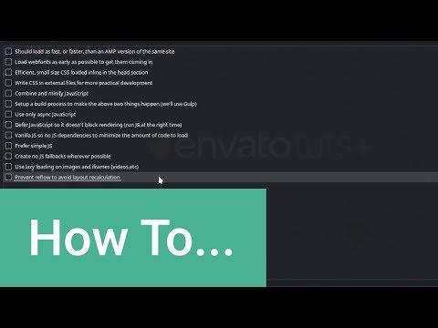 Optimize Your Website Without AMP: Optimization Checklist
