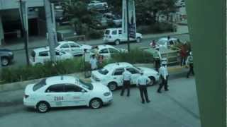 Ayala Mall Security vs Taxi Driver
