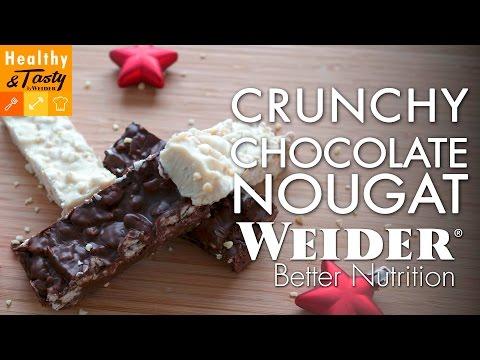 Crunchy Chocolate Nougat | Healthy&Tasty