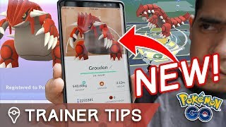 GROUDON RAID GUIDE!! PERFECT IVs, COUNTERS, BEST MOVES - NEW GEN 3 LEGENDARY in POKÉMON GO