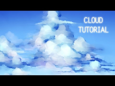 【Tutorial】Cloud Painting Process【SAI】