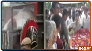 Sheila Dikshit's Body Cremated at Delhi's Nigambodh Ghat with State Honours