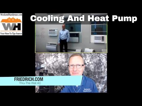 FRIEDRICH Thru The Wall Air Conditioning or Heat Pump AC Units | Weekend Handyman