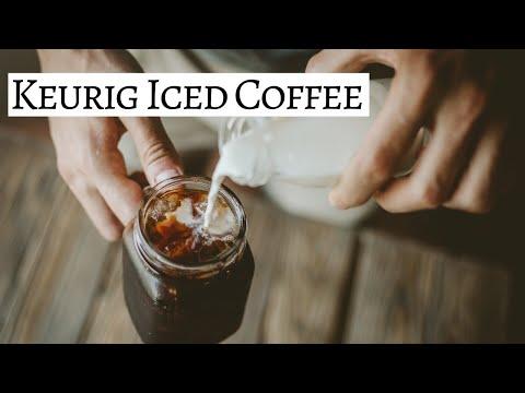 DIY Iced Coffee Keurig Recipe // How To Save Money on Coffee // Kristen Marie
