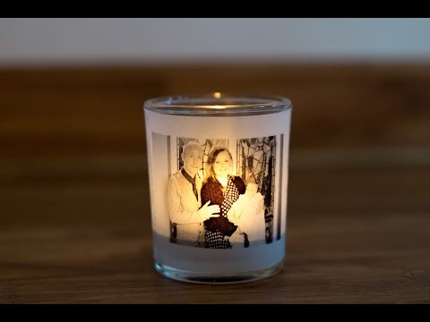 Make An Illuminated Votive Tea light Holder with A Custom Photo