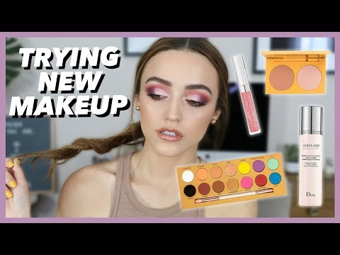 Berry Pink Smokey Eye | GRWM + Testing New Products!