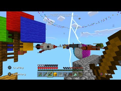 NEW Minecraft Xbox BETTER TOGETHER UPDATE Server - Skywars Gameplay