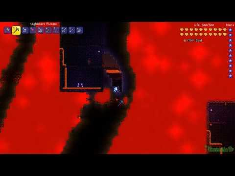 Terraria Türkçe Rehber: Nightmare Pickaxe (Kabus Kazma)