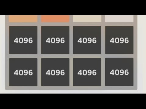 THE 2048 GAME! NEW HIGHSCORE! 70.000+! 4096 Tile